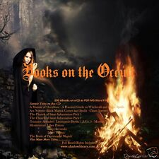 CD - 200 Books on the Occult - Dark Arts - Demonology - Satanism - Magick
