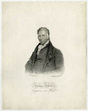 Antique Master Print-PORTRAIT-THOMAS BEWICK-WOOD ENGRAVER-Ramsay-Meyer-ca. 1840