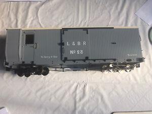 Accucraft L&B Bogie Brake Van SM32 16mm Scale Garden Railway Narrow Gauge