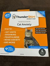 ThunderShirt Cat Anxiety Large Free Shipping!