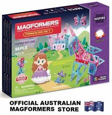 Genuine MAGFORMERS Princess Set 56pcs - 3D Brain Training Magnetic Construction