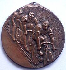HUNGARIAN CYCLING AWARD BRONZE MEDAL  BY FÜSTI MOLNÁR BÉLA (1904-1976)