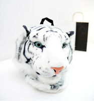 Fashion Punk Tide Tiger Head Lion Head Backpack Bag Rucksack Change Bag Shocking