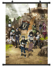 4767 Black Clover Decor Poster Wall Scroll cosplay