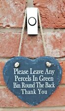Personalised Slate Door Sign - Engraved With Whatever You Want