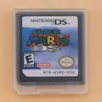 Super Mario 64 DS Game Card For Nintendo 3DS NDSI NDSL NDSLL NDSXL NDS Lite Gift