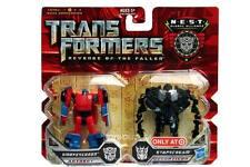Transformers ROTF Legends Class Smokescreen & Starscream Target Exclusive
