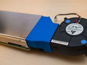 Intel Xeon Phi X100 X200 cooling fan shroud duct blower axial