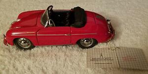 Franklin Mint 1955 Porsche 356 Speedster Convertible Scale 1:24