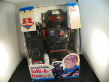 Playwell 019331 Talk-a-Tron robot à piles Voice amplifier 29 cm neuf boite MIB