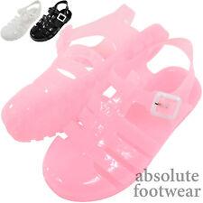 Childrens / Kids / Girls Summer / Garden / Beach / Holiday Jelly Shoes / Sandals