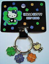 Hello Kitty Schlüsselanhänger Kleeblatt Original Sanrio NEU und OVP