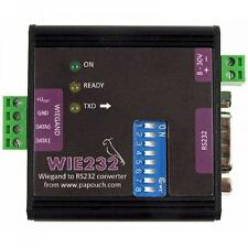 Wie232 - Wiegand converter to RS232