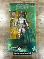 "Star Wars Black Series 40th Boba Fett CARBONIZED 6"" Figure 2020 New. In Hand"