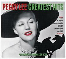 PEGGY LEE - GREATEST HITS - 75 ORIGINAL RECORDINGS (NEW SEALED 3CD)