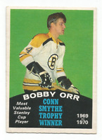 1970-71 O-Pee-Chee #252 Bobby Orr Conn Smythe Trophy Winner Boston Bruins