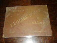 SOUVENIR DE L'EGLISE St REMI DE REIMS - 1896 - Marne