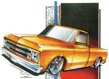 1968-72 Chevy Truck custom t-shirt     S,M,L or XL