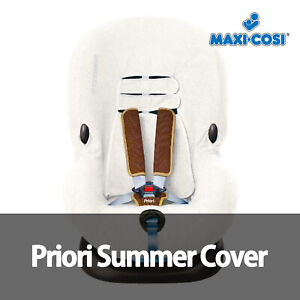 NEW MAXI COSI PRIORI SUMMER SEAT COVER in WHITE - Keeps little ones cool x