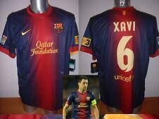 Barcelona XAVI Nike BNWT Adult XL Spain Shirt Jersey Football Soccer 12/13 Top