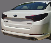 FITS 2010-2013 Kia Optima vinyl tail light covers tints smoked 6 pieces