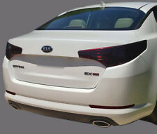 FITS 2010-2013 Kia Optima vinyl tail light covers tints smoked 6 pieces