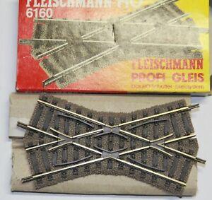 Fleischmann Profigleis 6160 Kreuzung 105 mm neuwertig unbenutzt in OVP