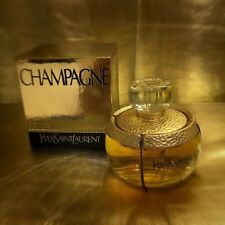 Yves Saint Laurent Champagne YSL 100ml EDT Splash Rare Discontinued Sealed Box
