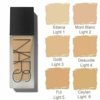 NARS ALL DAY LUMINOUS WEIGHTLESS FOUNDATION Light Choose Your Color NY