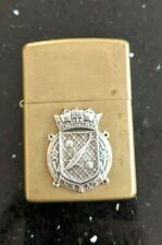 More details for original zippo brass lighter - customised for ww2 rnps harry tate's navy - used