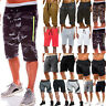Mens Elasticated Waist 3/4 Long Length Shorts Jogger HolidayThree Quarter Pants