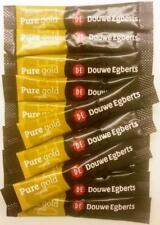 100 DOUWE EGBERTS PURE GOLD ONE CUP COFFEE STICK SACHETS