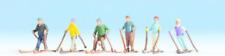 Noch 36828 Skiers N Gauge Figures Set