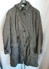 Karen Millen Ladies Parka Jacket Great Winter Coat Size 12 Uk