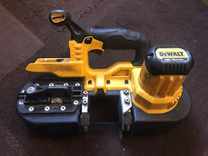 DeWalt DCS371 18V XR Li-Ion Cordless Compact Bandsaw - Body Only - Used