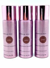 3-AERO MINERALE MAKEUP MIST SPRAY ON FOUNDATION COSMETIC BROWN Amber ETHNIC SKIN