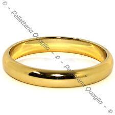 Bracciale Braccialetto Resina Dura Color Oro Donna Diametro 7 cm Moda Fashion