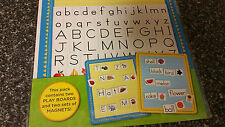 Educational Magnet: Alphabet & Compound Words + 2 Magnetic Playboards