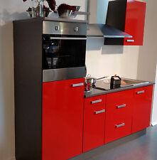 Küchenzeilen in Stil:Modern, Frontfarbe:Rot | eBay