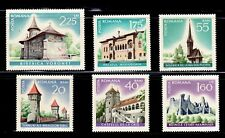RUMANIA  ARTE . ARQUITECTURA 1967 2310/15  6v.