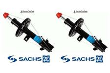 Front Pair of Shock Absorbers Struts FOR NOTE E11 06-12 1.4 1.5 1.6 SACHS