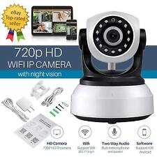 Wireless IP Camera Pan Tilt 720P Network CCTV Night Vision WIFI Security Webcam