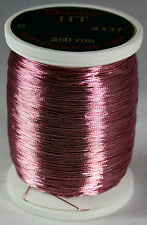 Gudebrod Rod Building Thread 1 Oz Spool DUSTY ROSE #9337 HT Metallic Size D