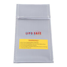Durable Lipo Battery Safe Bag Pouch Fireproof Charging Protection 100*200mm ZY