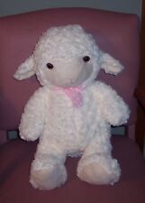 "Holiday Home WHITE Jumbo Large Curly Soft Plush Sheep Lamb Easter 25"" Gift NEW"