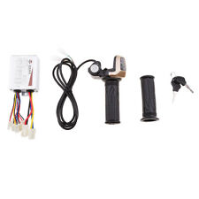 Brush Speed Controller Electric Scooter Motor with Keys Throttle #2 24V500W