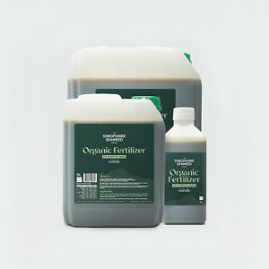Premium Organic Liquid Seaweed Fertilizer, from The Shropshire Seaweed Company