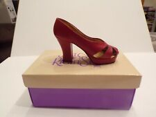 Just The Right Shoe By Raine Ravishing Red