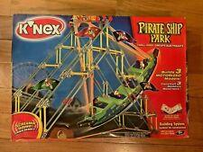 K'Nex Pirate Ship Park 15139 Thrill Rides Circuits Screaming Sounds *Sealed Box*