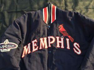 MEMPHIS REDLEGS AIS Minor League Baseball Team Jacket St. Louis Cardinals